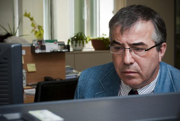 Teodomiro Hidalgo, vocal nacional de farmacéuticos titulares en funciones.