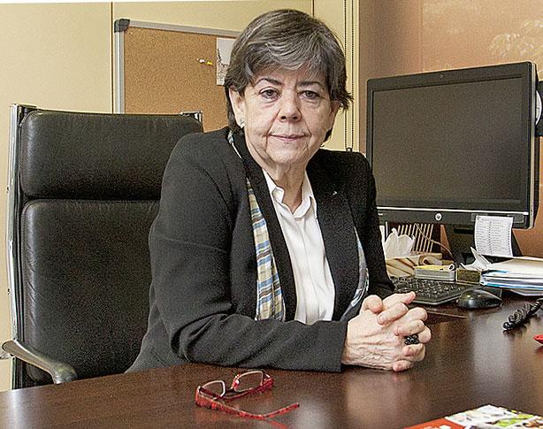 Helena Ris, presidenta del Patronato de la Fundació Puigvert.