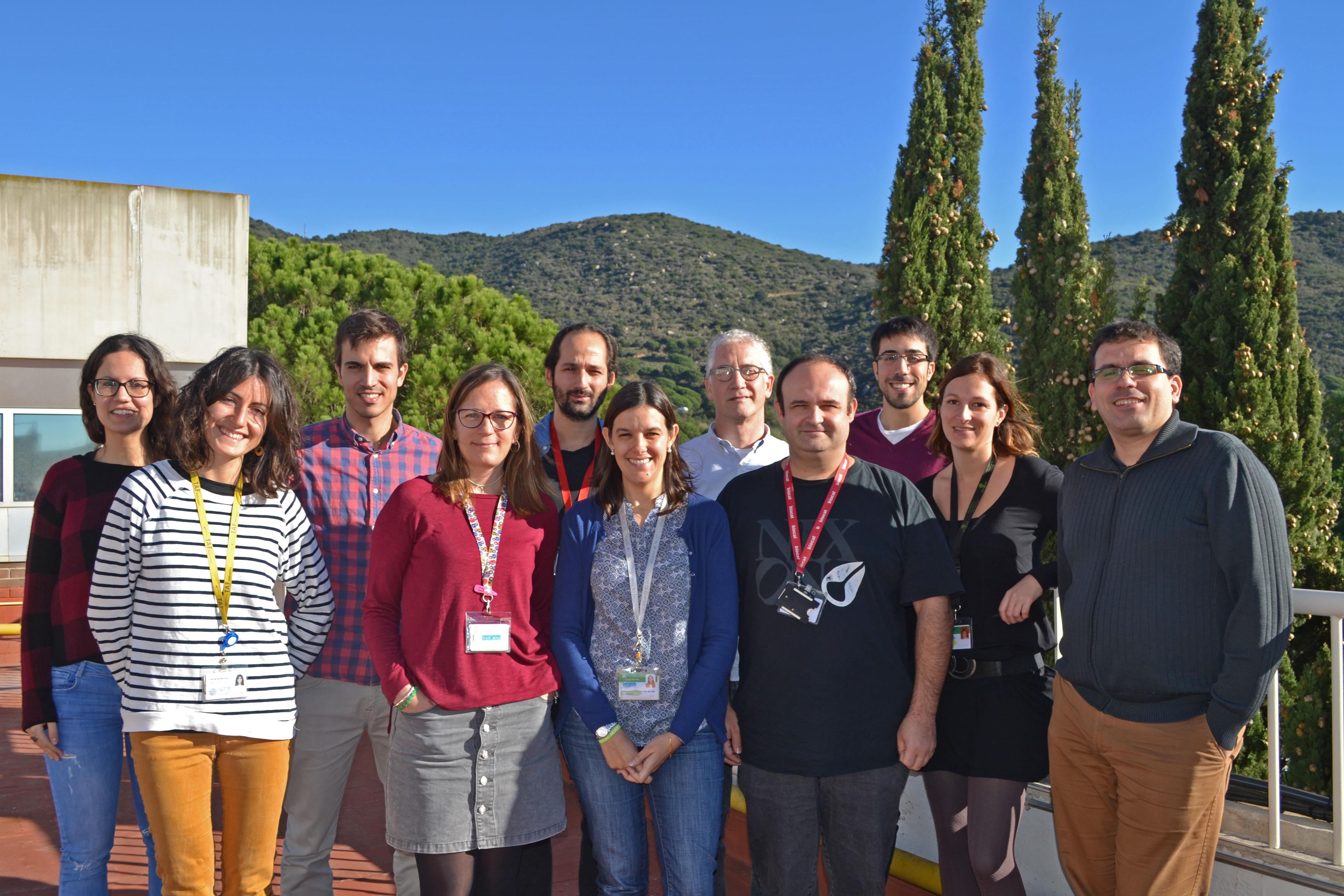 Grupo de investigación liderado por Julià Blanco, del Instituto de Investigación Germans Trias i Pujol en IrsiCaixa.