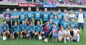 Campeonato de Fútbol Médico en Barcelona en 2003