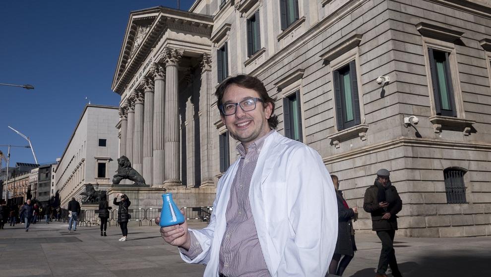 Andreu Climent, coordinador de Ciencia en el Parlamento