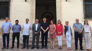 Foto de familia del seminario de verano del Gobierno valenciano