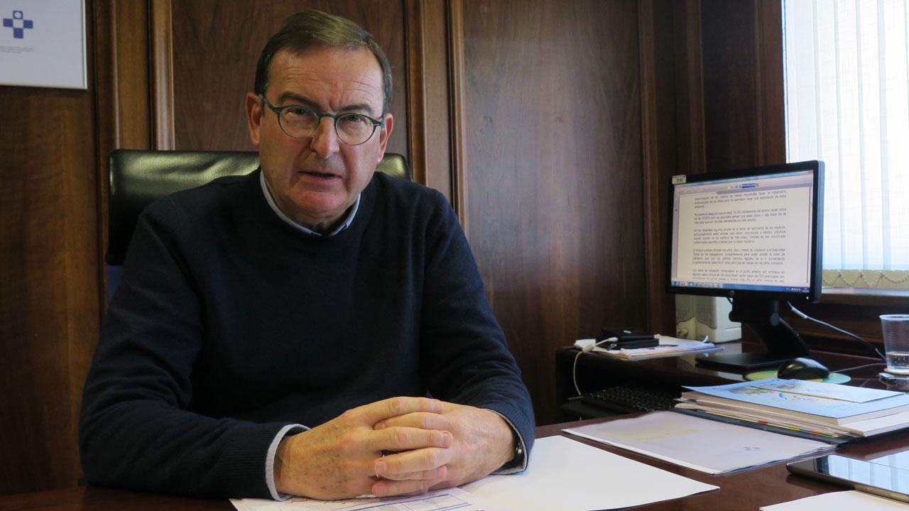 José Ramón Riera, gerente del Sespa.