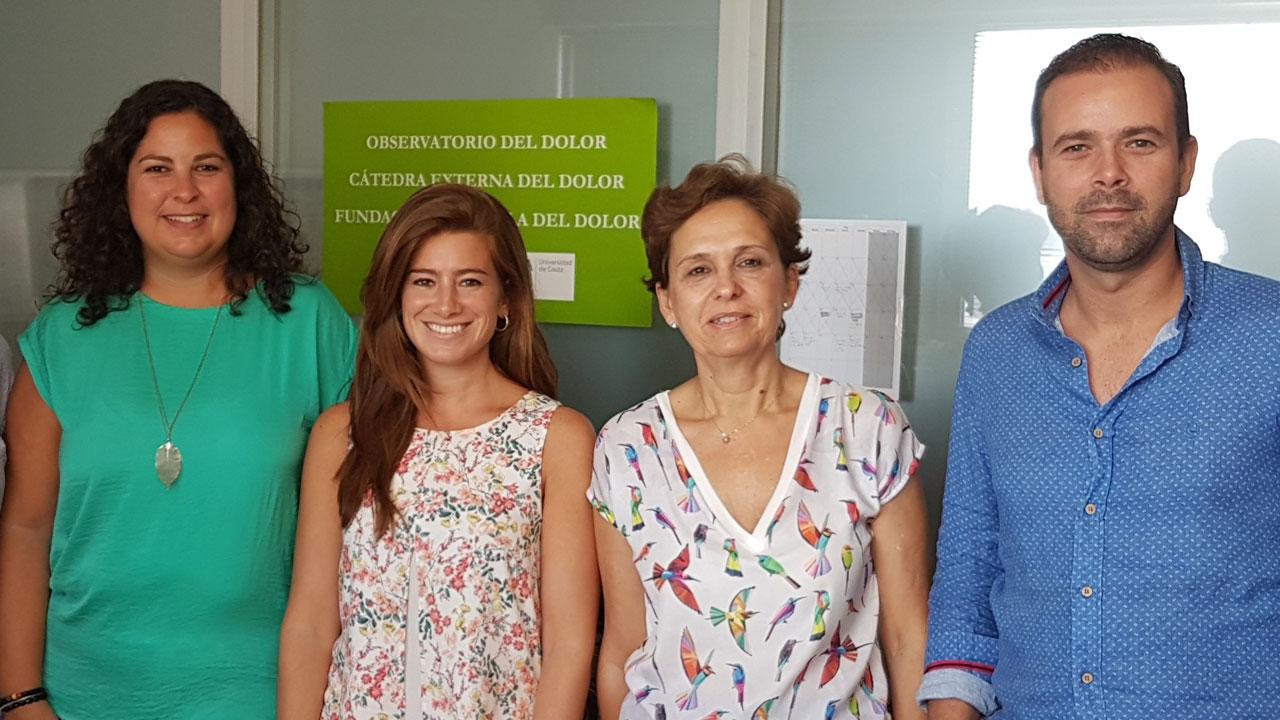 María Dueñas, Helena de Sola, Inmaculada Failde y Alejandro Salazar, autores del estudio.