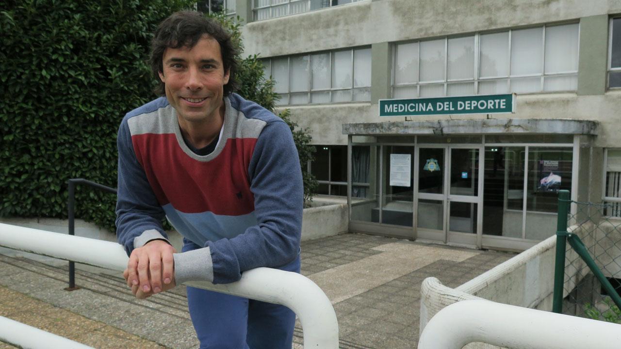 Hugo Olmedillas, del grupo ITSalud de la Universidad de Oviedo, y primer autor del estudio.