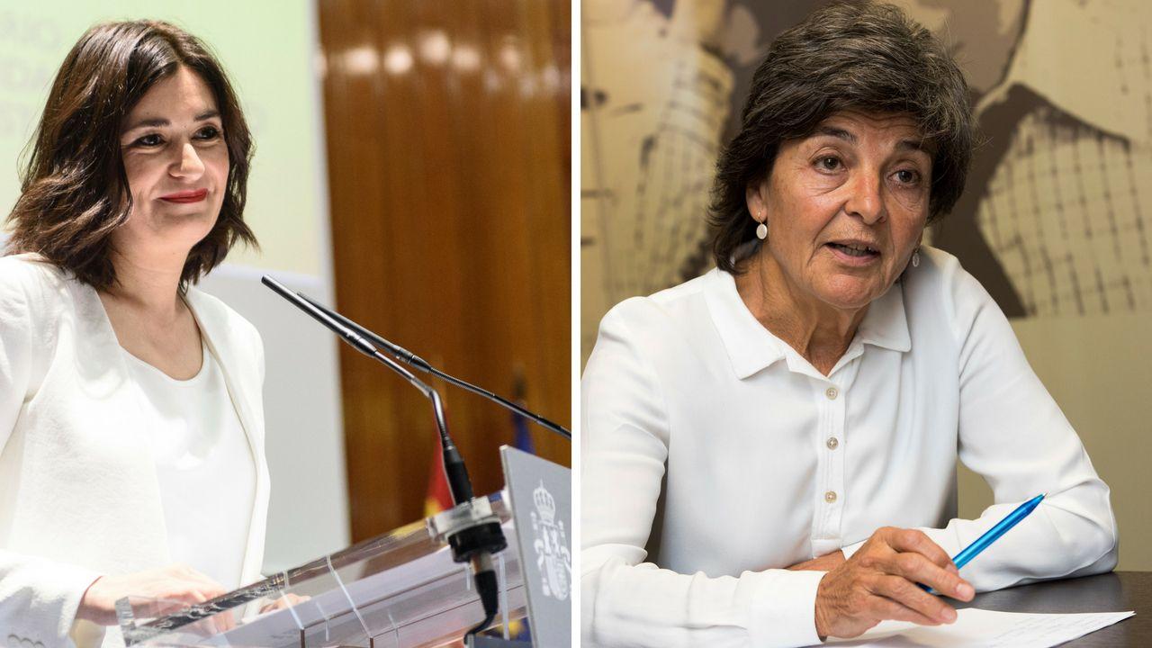 Carmen Montón y Amparo Botejara
