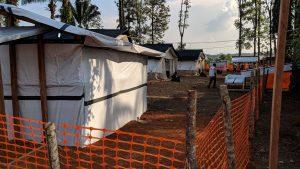 Nuevo centro de tratamiento contra el Ébola de MSF en RDC