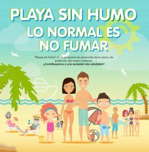 Campaña Playa Sin Humo de la Región de Murcia