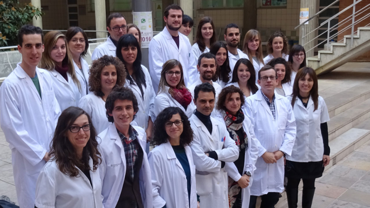 Jordi Salas-Salvadó, investigador principal del Ciberobn, con su equipo.