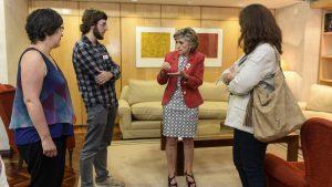 Entrevista con María Luisa Carcedo, ministra de Sanidad