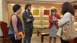 La ministra María Luisa Carcedo, en la entrevista con DM