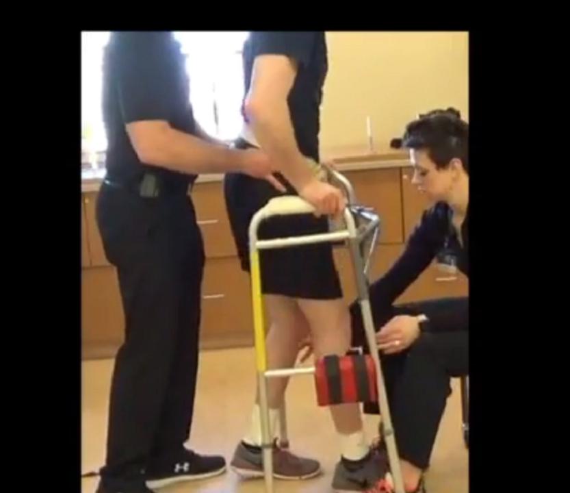 Un caso exitoso de recuperación tras pérdida de función motora por lesión medular.