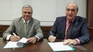 Acuerdo Facme-Cosce: Fernando Carballo y Nazario Mart�n