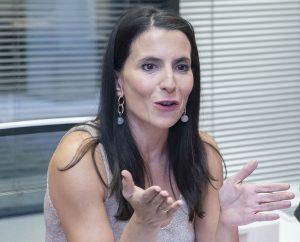 Raquel Cutillas, rehabilitadora y miembro de la Unidad de Disfagia de la Fundación Jiménez D�az, de Madrid