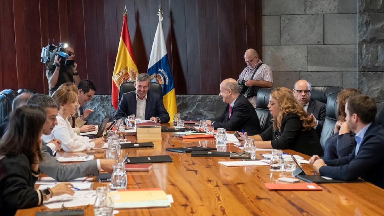 Consejo de Gobierno en Canarias