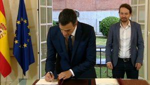 Acuerdo PSOE-Podemos