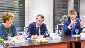 Mar�a José Terol, Daniel Castellano y Antonio González Mart�n,