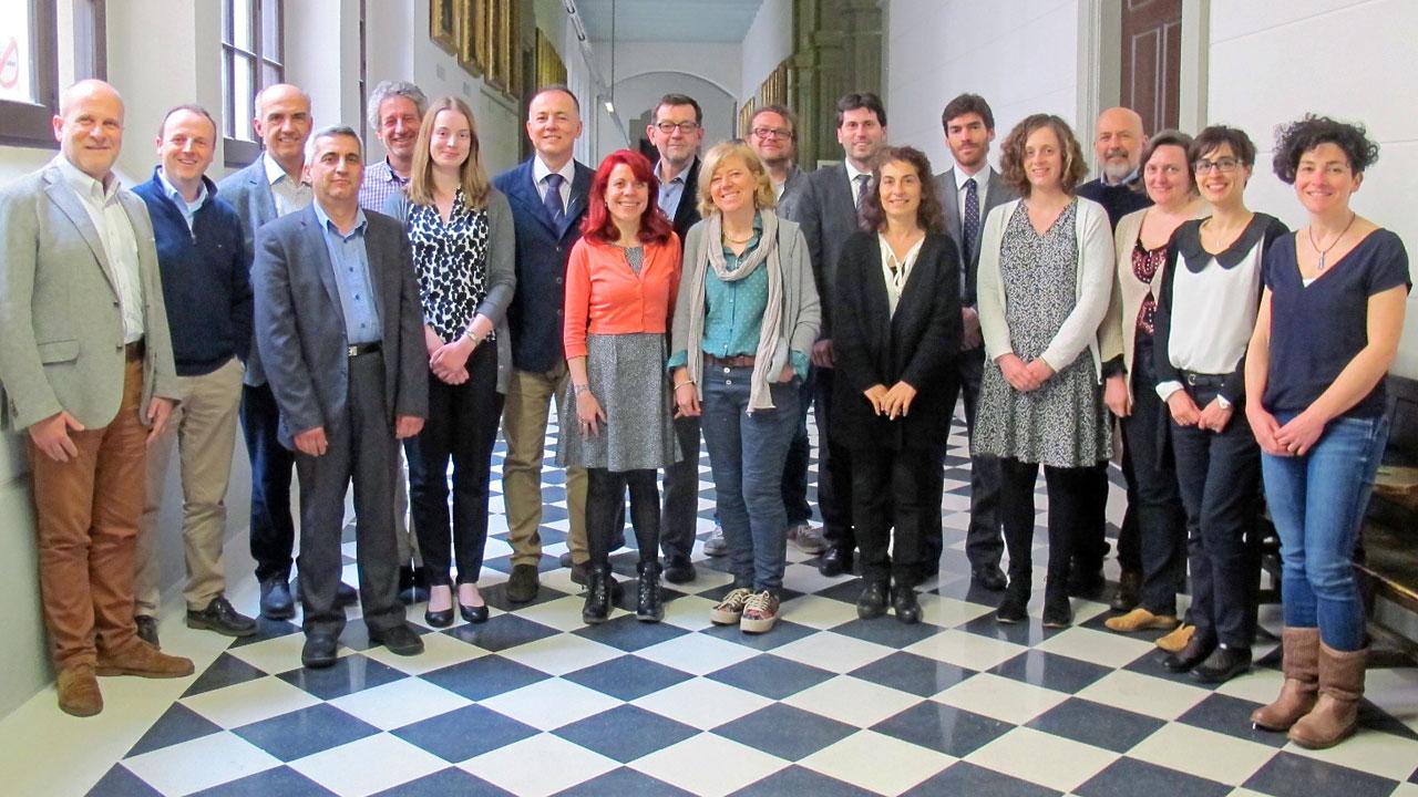 Reunión de los integrantes del proyecto 'NoMorFilm'.