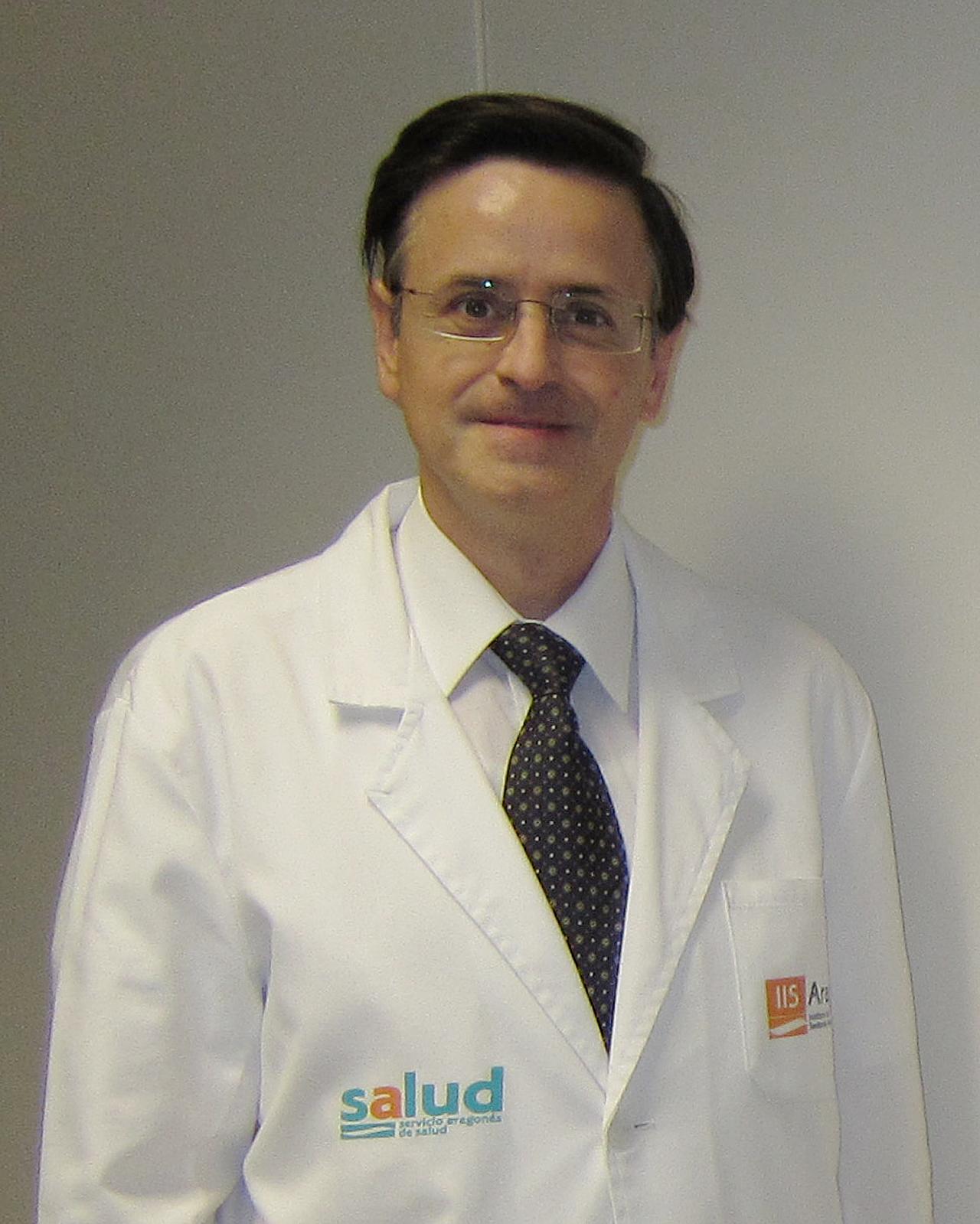 Mart�n Laclaustra, investigador de la Fundación Aragón Investigación y Desarrollo (Araid) en el Instituto de Investigación Sanitaria de Aragón (IIS-Aragón) y el Cibercv.