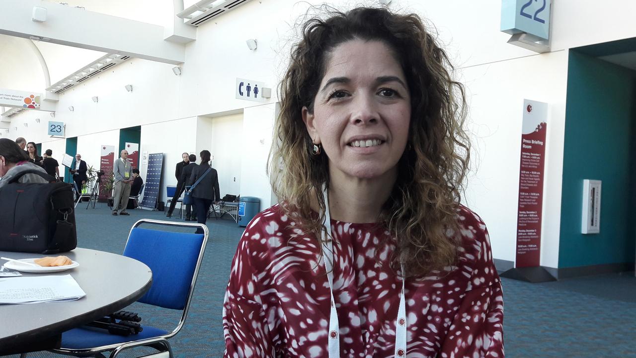 Carol Moreno, consultora de hematolog�a y directora del estudio