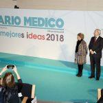 Faustino Blanco, secretario general de Sanidad durante su discurso en la entrega de premios Mejores Ideas 2018