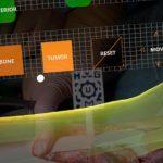 Diferentes momentos de la programación quirúrgica con este nuevo sistema de realidad aumentada.