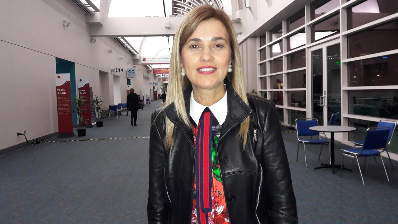 Mar�a Victoria Mateos, hematóloga del Hospital Cl�nico de Salamanca.
