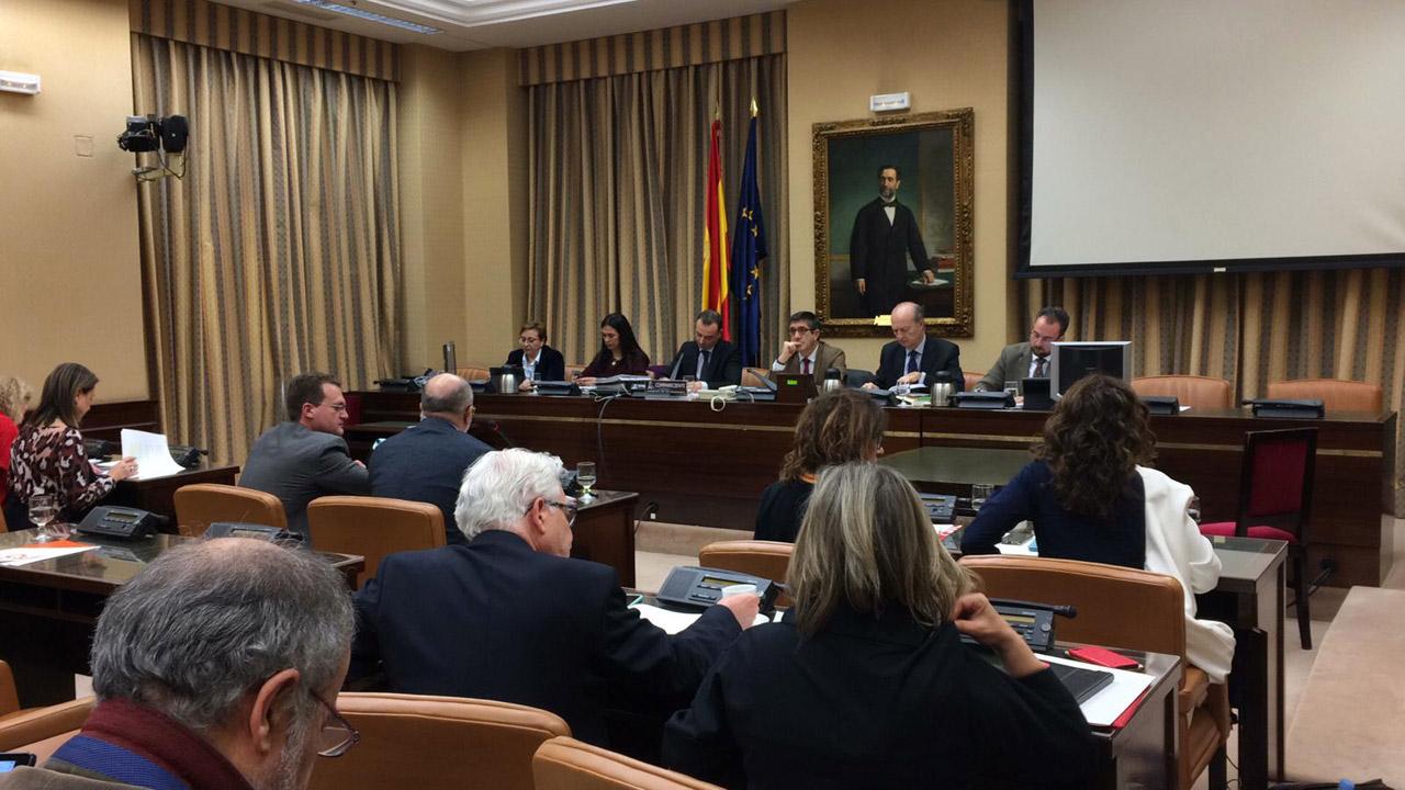 Sesión de la Comisión de Sanidad celebrada este miércoles.