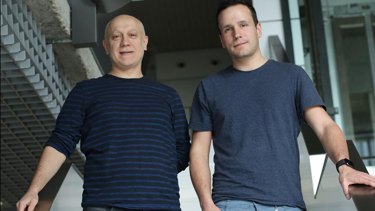 Andrés Hidalgo y José Mar�a Adrover.