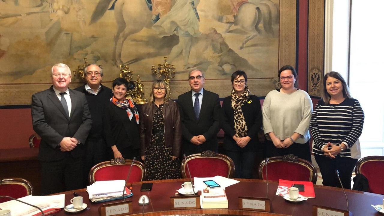 Parlamentarios de la ponencia de genómica en el Senado