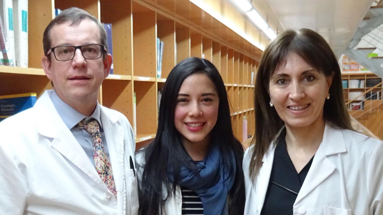 Jordi Salas, Indira Paz-Graniel y Nancy Babio