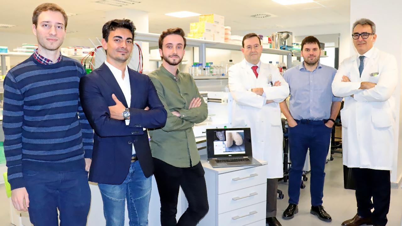 Carlos Biec, Daniel Cermeño, Mario Juárez, Enrique Gómez Barrena, José Manuel Baena y Ramón Cantero, de La Paz, de Madrid.