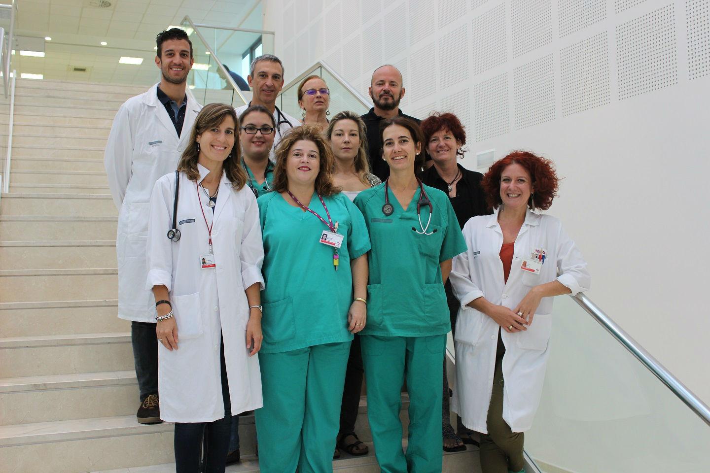 Profesionales del grupo de investigación en Cardiopatías familiares, muerte súbita y mecanismos de enfermedad (CaFaMuSMe) del Instituto de Investigación Sanitaria La Fe.
