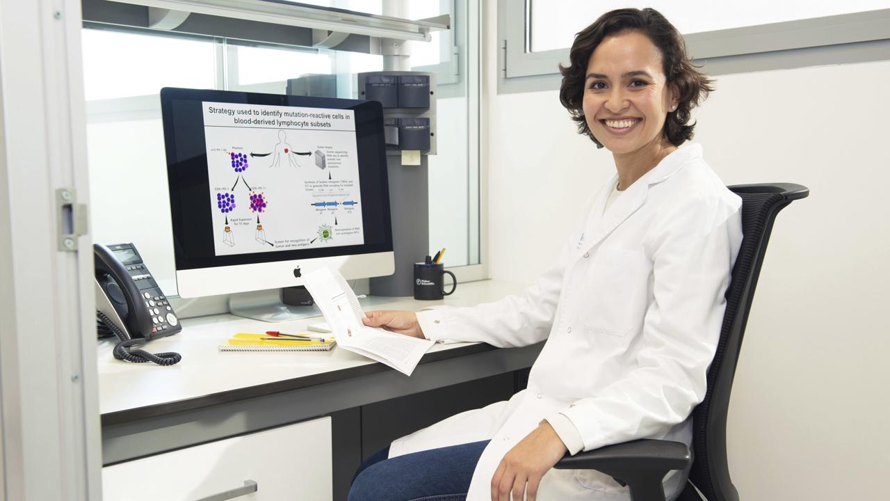 Alena Gros, del Hospital Valle de Hebrón, de Barcelona.