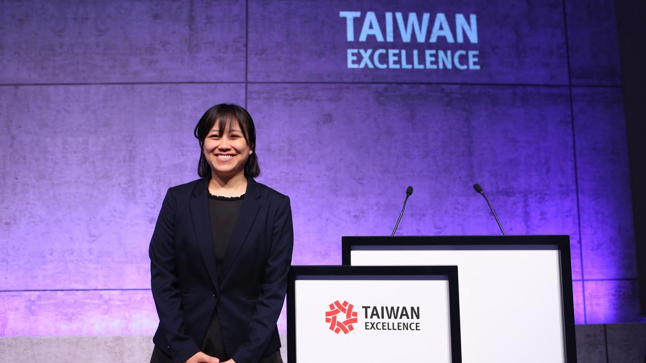 Rosa Liu, de Taiwan, en el Mobile World Congress 2019, que se está celebrando en Barcelona.