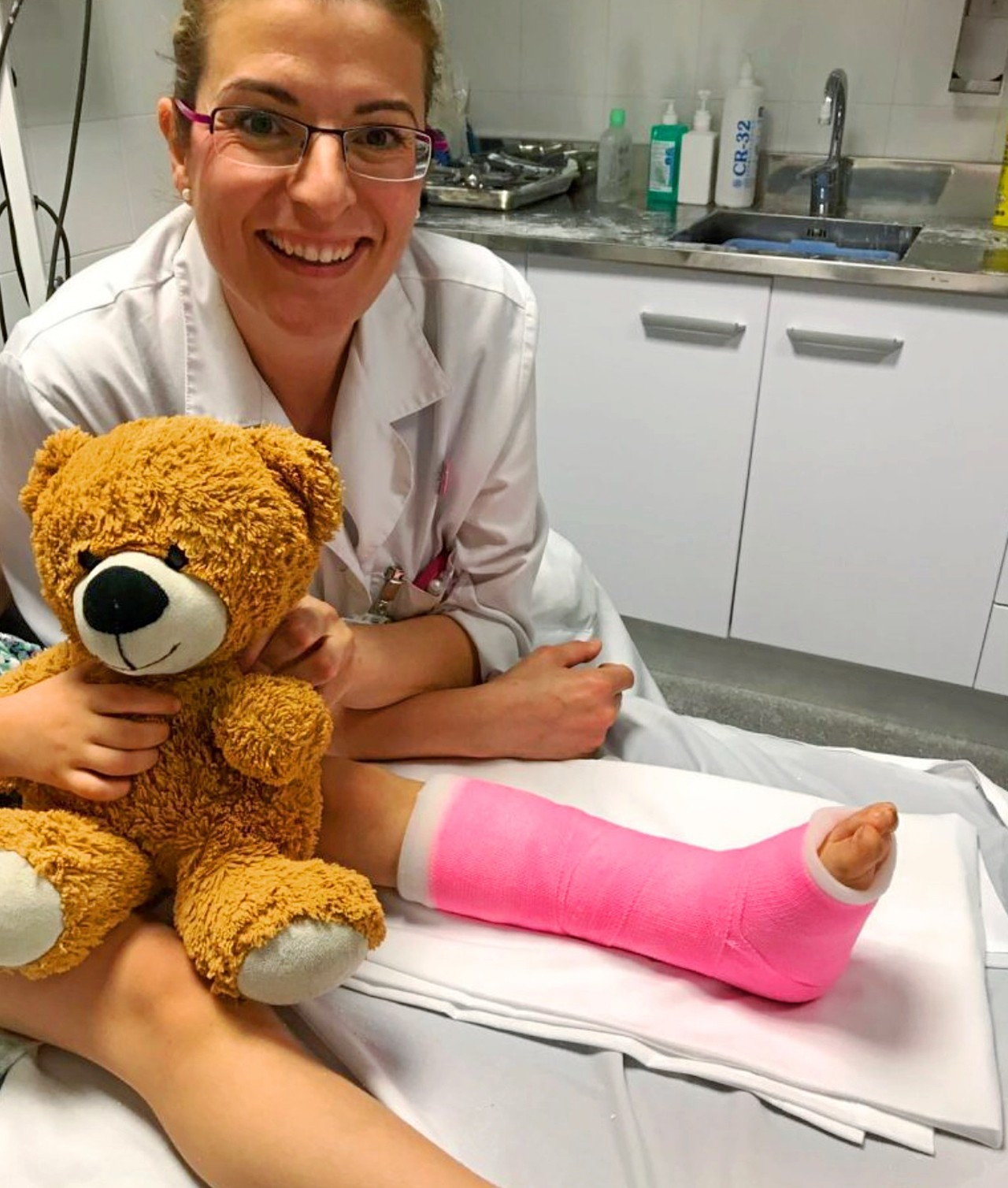 Eugènia Miranda, traumatóloga del Hospital de San Pablo y Santa Tecla en Tarragona.