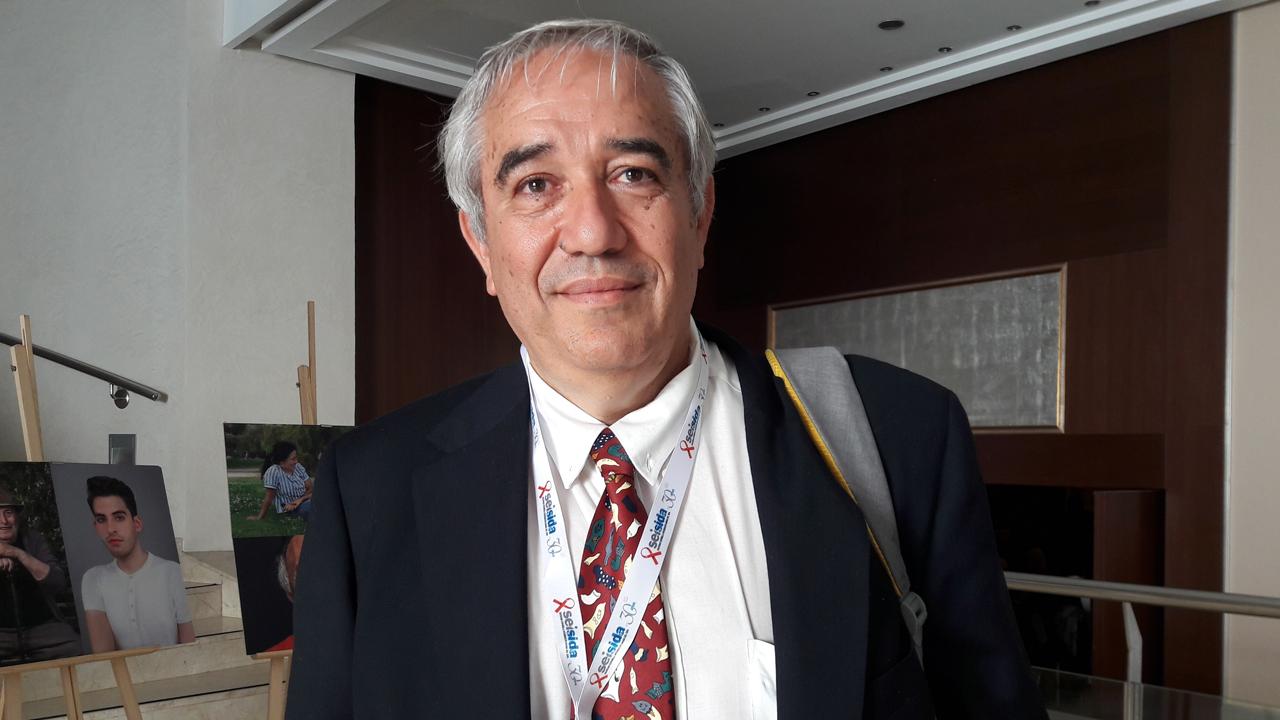 José Alcam�, director de la Unidad de Inmunopatolog�a del Sida en el Instituto de Investigación Carlos III.