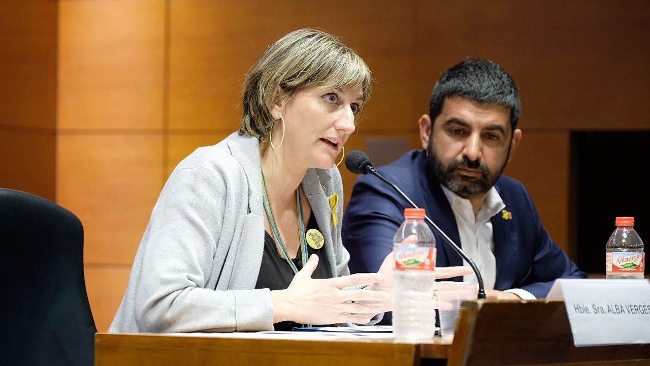 La consejera de Sanidad de Cataluña, Alba Vergés, en una imagen de archivo.