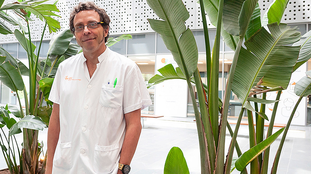 Albert Oriol, del Hospital Universitario Germans Trias i Pujol, de Badalona, en Barcelona.