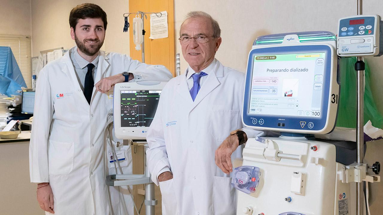 Borja Quiroga y Vicente Álvarez, del Hospital Universitario de La Princesa.