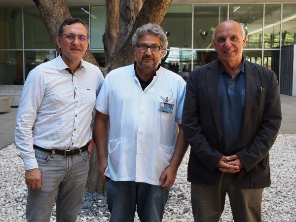 Roberto Elosua, Albert Clarà y Jaume Marrugat