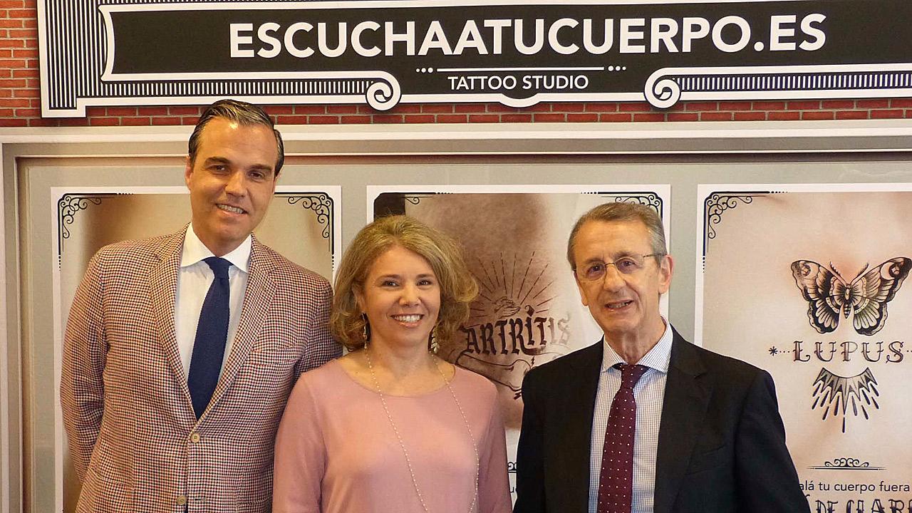 Marcos Paulino, Pilar Trenor y Juan José Gómez-Reino, en el congreso que la SER ha celebrado en Valencia.