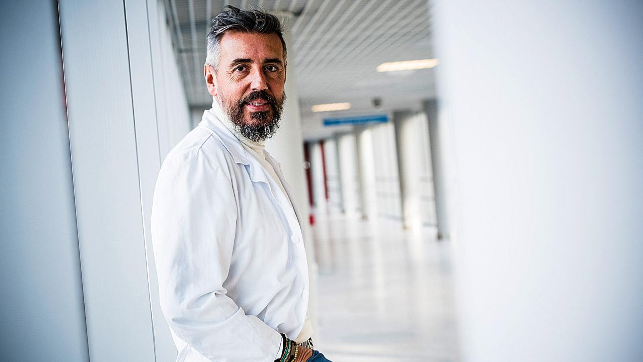 Raúl de Lucas, coordinador del Grupo de Dermatología Pediátrica de la AEDV, que ha participado en el congreso de Barcelona.