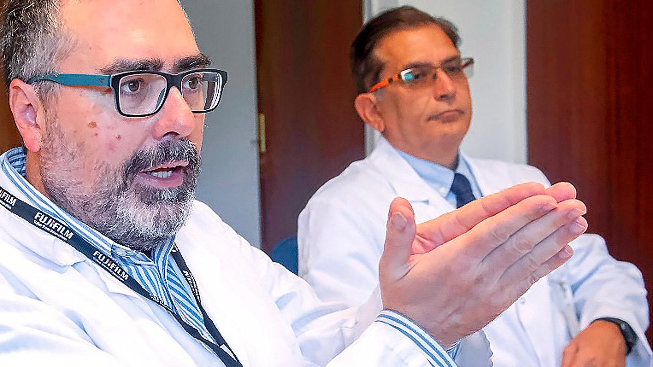 Luis Puente Maestu, jefe del Servicio de Neumología