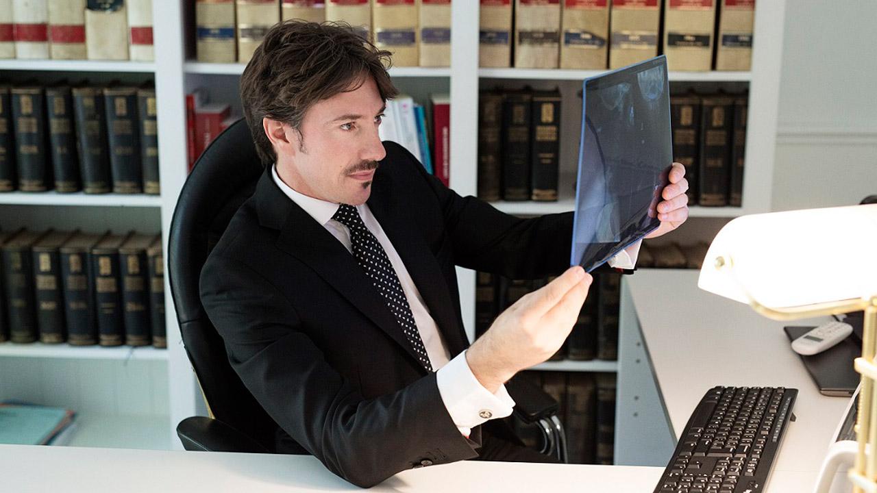 Álvaro Sardinero, abogado.