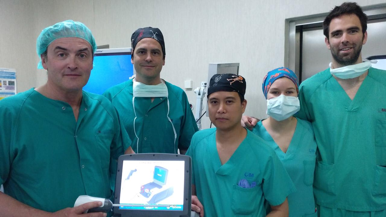El Servicio de Urología del Hospital del Henares incorpora una técnica basada en vapor de agua para la HBP.