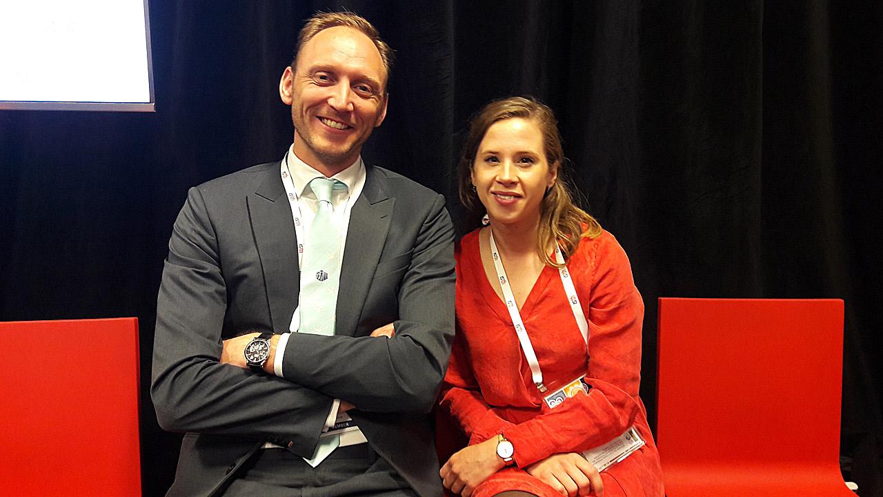 Erik Klok y Lisette Van Dam, del Centro Médico de la Universidad de Leiden (Países Bajos).