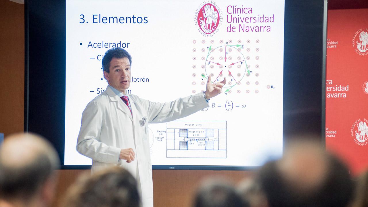Juan Diego Azcona, especialista en Radiofísica Hospitalaria de la CUN