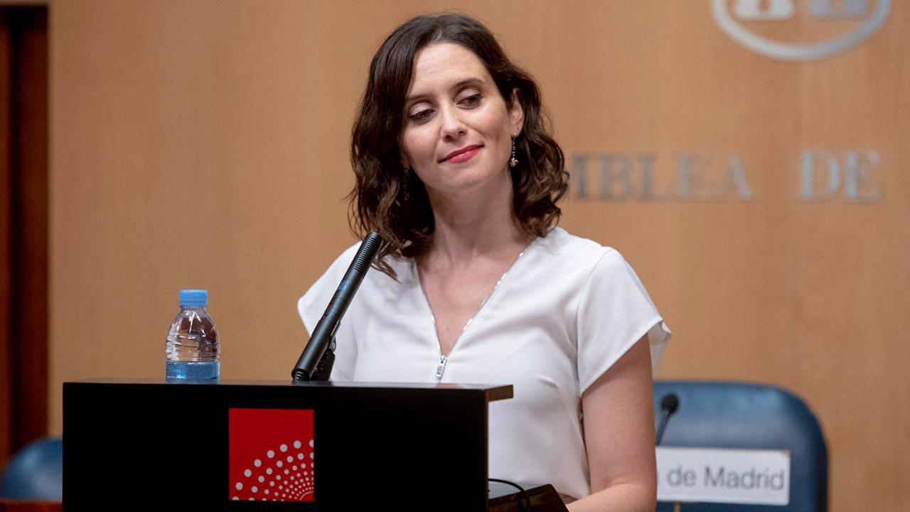 Isabel Díaz Ayuso, candidata a la Presidencia de la Comunidad de Madrid.