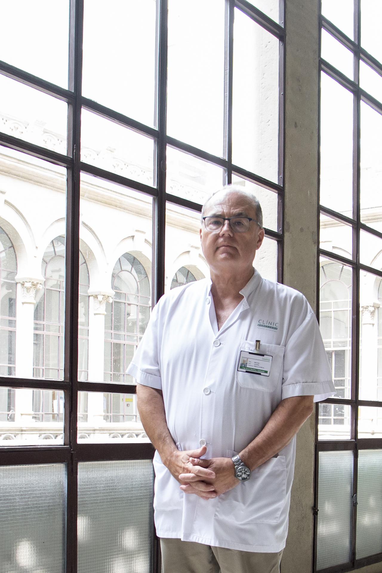 Antoni Trilla, jefe del Servicio de Medicina Preventiva y Epidemiolog�a del Hospital Cl��nico de Barcelona, y decano de la facultad de Medicina de la Universidad de Barcelona (UB).
